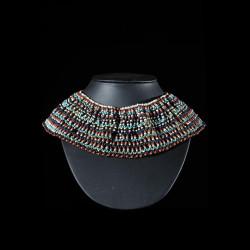 Parure de femme en perles - Zoulou - Afrique du Sud / Bostwana