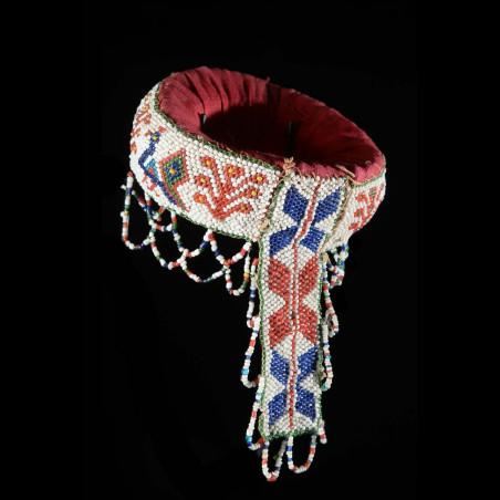 Bracelet de bras en perles - Zoulou - Afrique du Sud / Bostwana