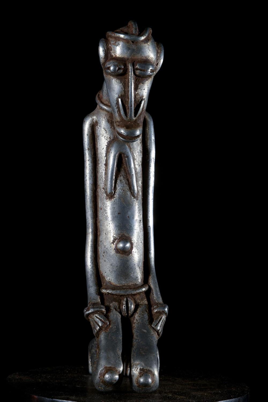 Statue Ancetre En Aluminium - Dogon - Mali