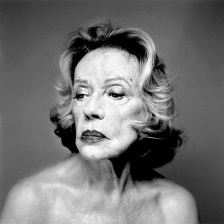 Tirage photo - Jeanne Moreau - Olivier Roller - 2005