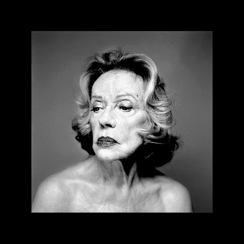 Tirage photo - Jeanne Moreau - Olivier Roller - 2005