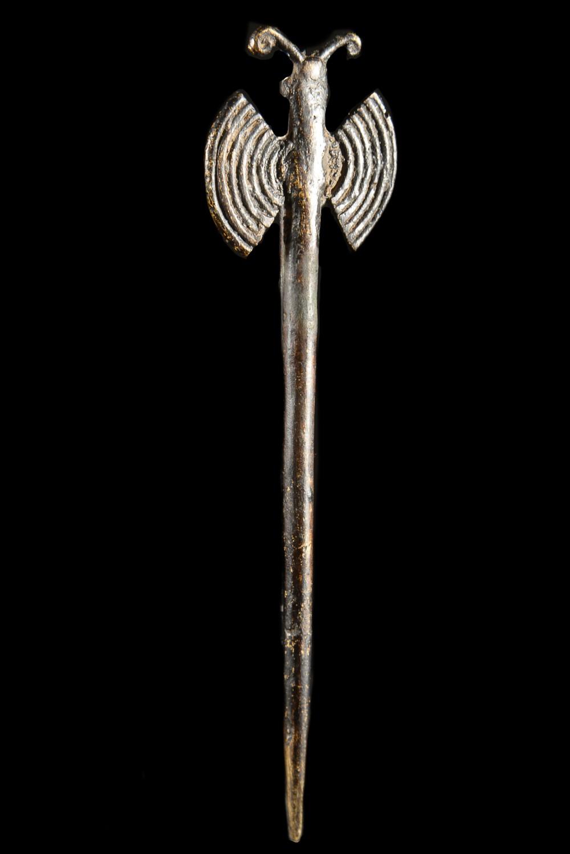 Pique a cheveux en bronze - Gan - Burkina faso