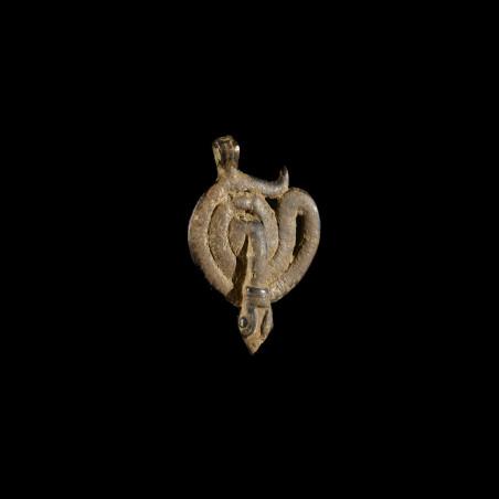 Pendentif serpents Debira - Gan - Burkina Faso