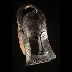 Masque Zoomorphe Goli Glen - Baoule - Côte d'Ivoire