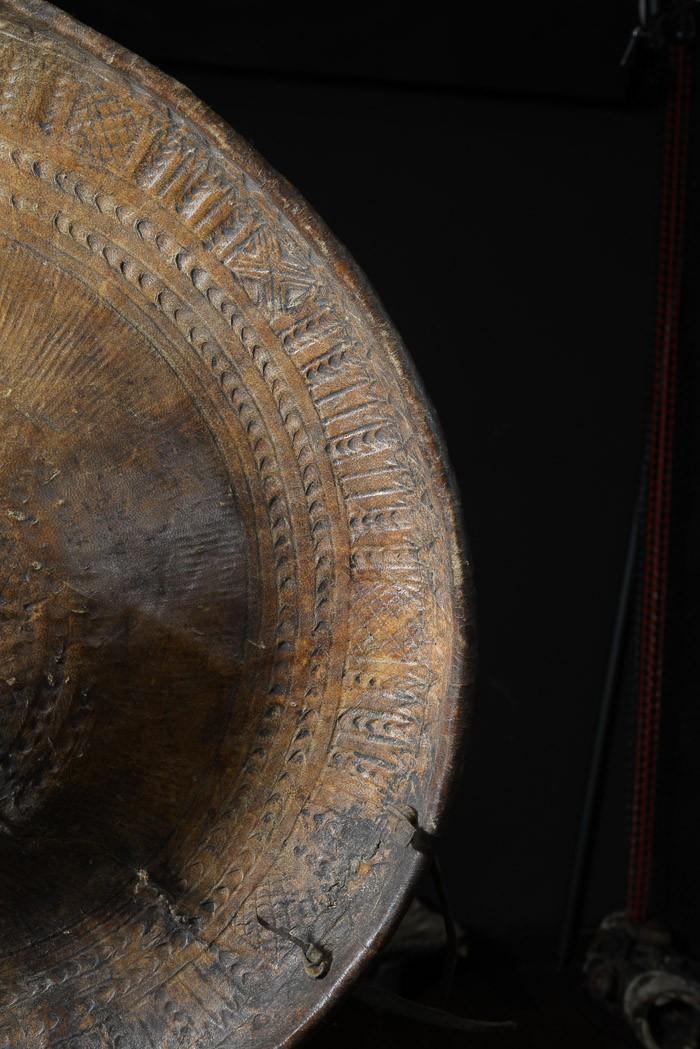 Bouclier en cuir  - Somali - Ethiopie / Somalie