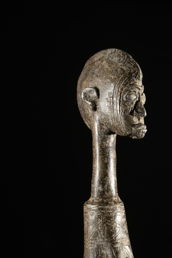 Poupee Biiga en aluminium - Mossi - Burkina Faso - Poupees d'afrique