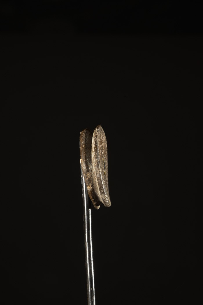 Labret en terre cuite - Mursi / Surma - Ethiopie