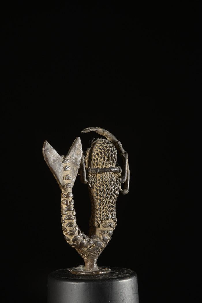 Mami Wata en Bronze - Gan - Côte d'Ivoire