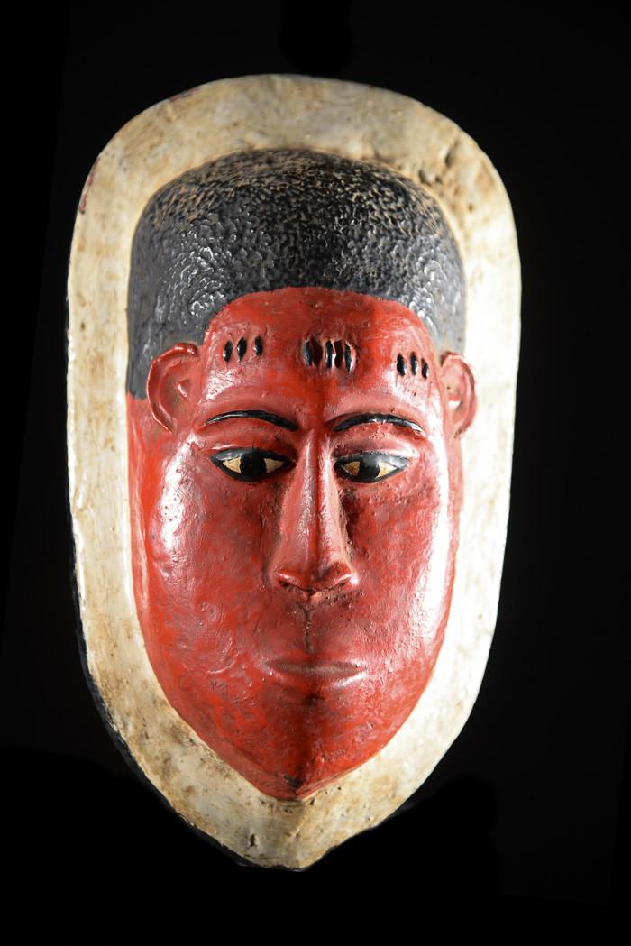 Masque de case - Guro - Côte d'Ivoire