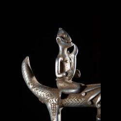 Pendentif amulette panthere - Lobi - Burkina Faso