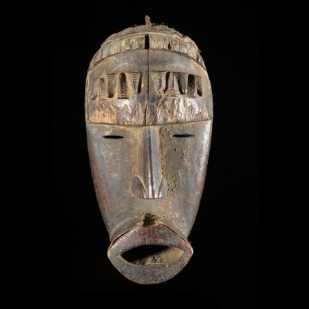 Masque rituel - Dan / Toura - Côte d'Ivoire