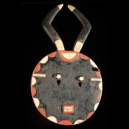 Masque Kple kple - ceremonie Goli - Baoule - Côte d'Ivoire