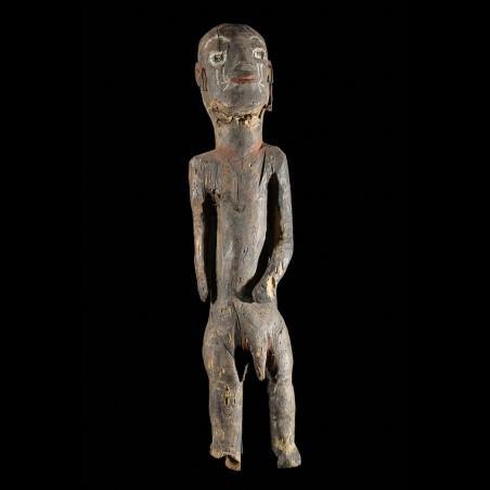 Statue poteau Ihambe - Tiv - Nigeria - Art africain