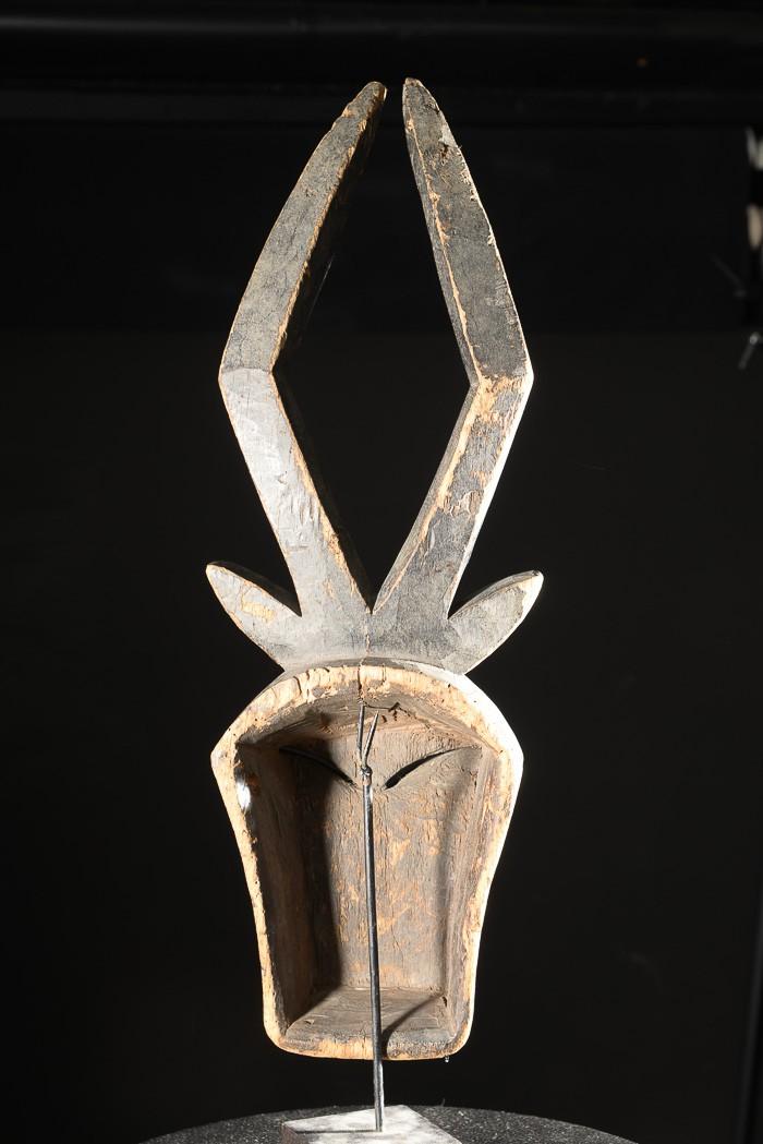 Masque antilope Duiker du Beete - Kwele - Gabon