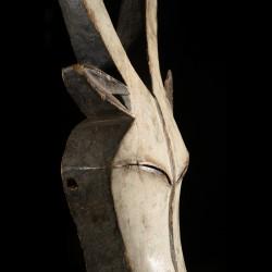 Masque antilope Duiker du Beete - Kwelle - Gabon