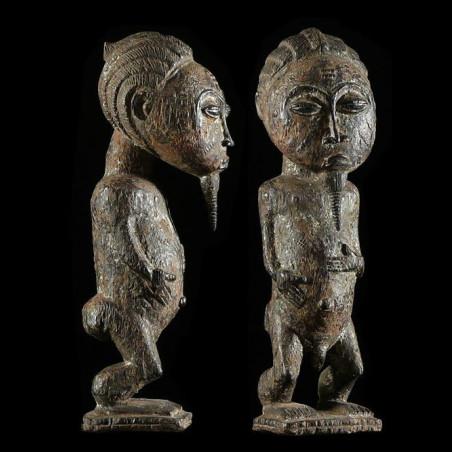 Statue de Jumeau - Baoule -...