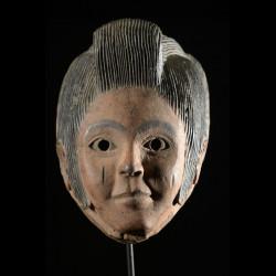 Masque Elvis polychrome - Idoma - Nigeria