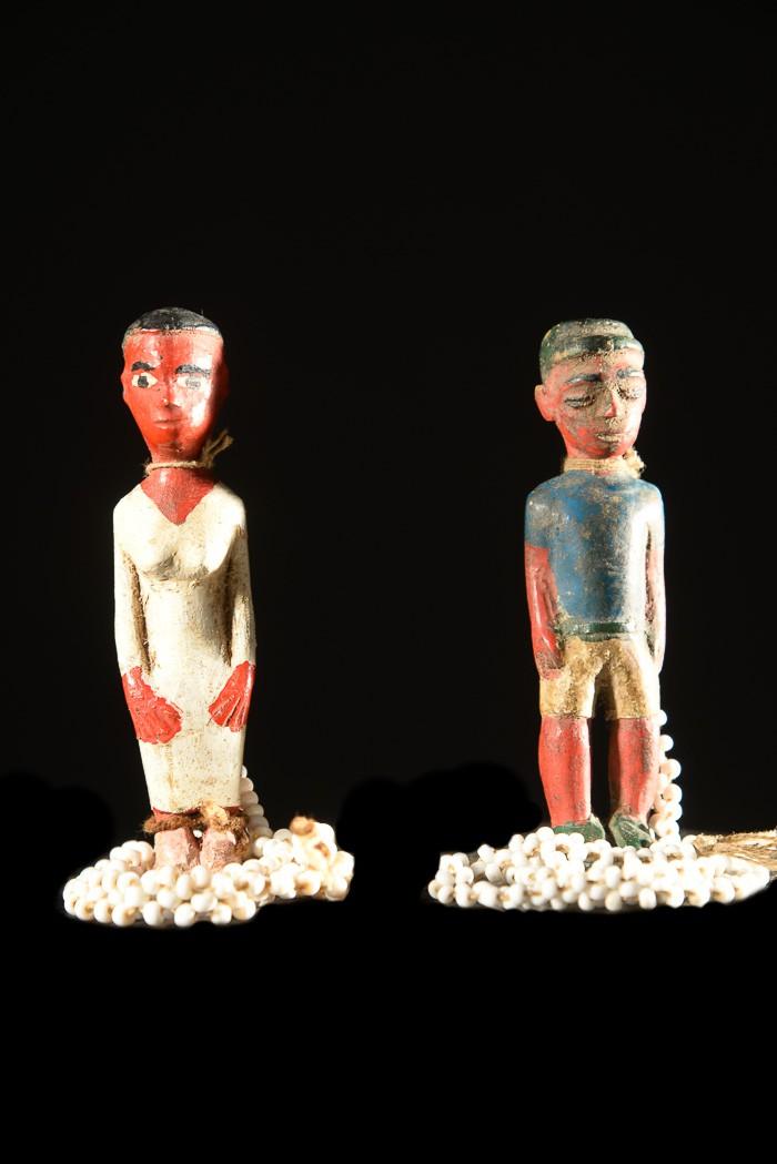 Pièces de collier de mariage Baoulé - Baoule - Côte d'Ivoire