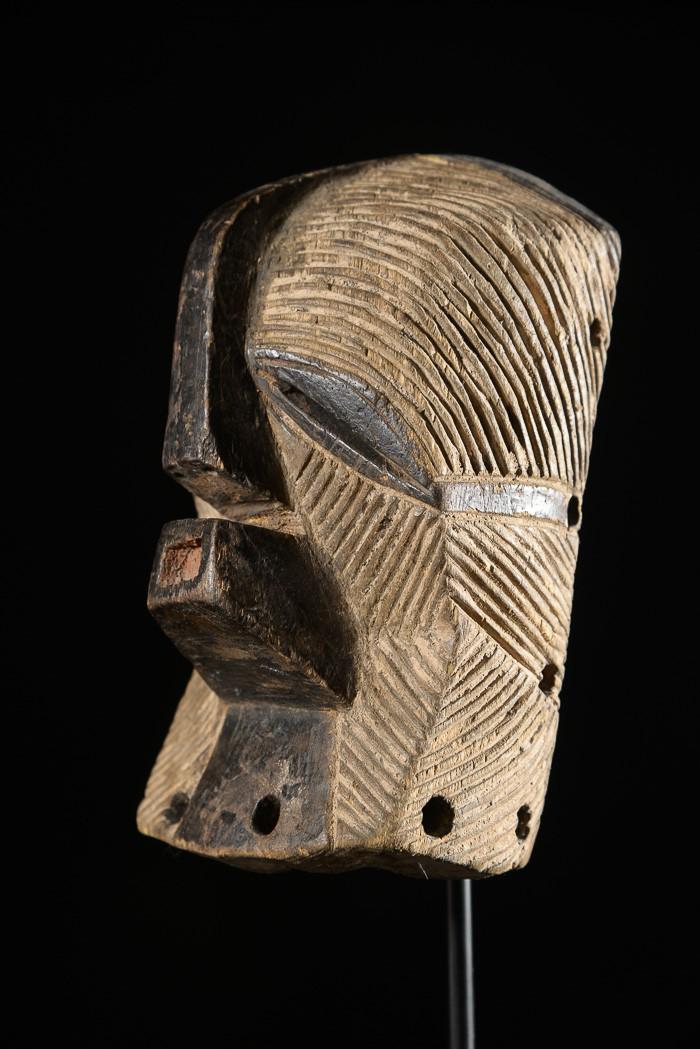 Masque Insigne ou de grade  - Songye - RDC Zaire