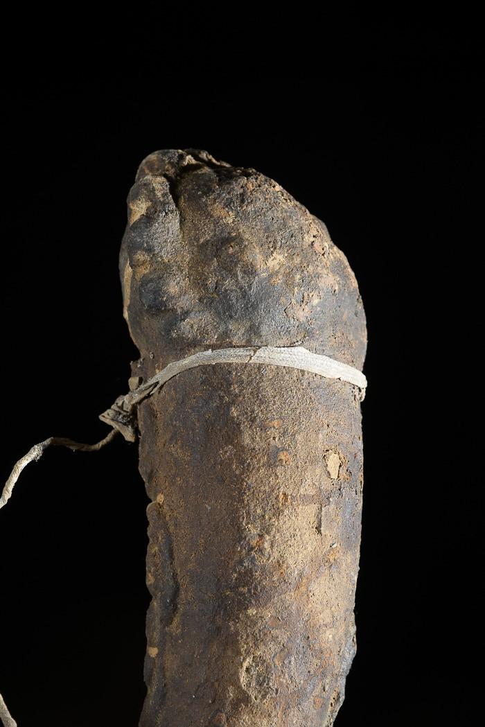 Fétiche zoomorphe de chasseur ou féticheur - Mossi - Burkina Faso