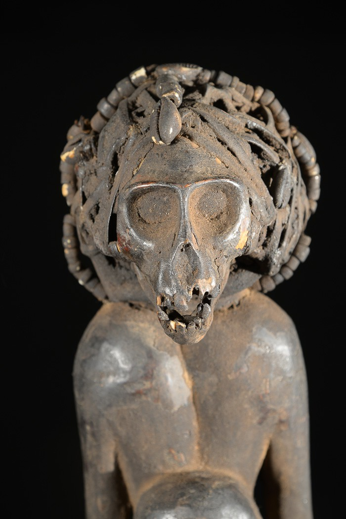 Singe reliquaire Ngil - Bulu / Boulou - Cameroun