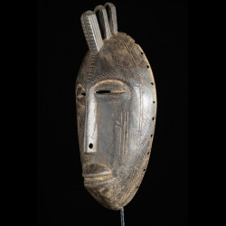 Masque facial rituel - Bambara / Marka - Mali