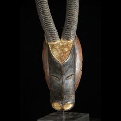 Masque zoomorphe Buffle - Guro - Côte d'Ivoire