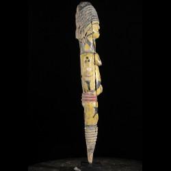 Statuette feminine Edjo - Urhobo - Nigeria