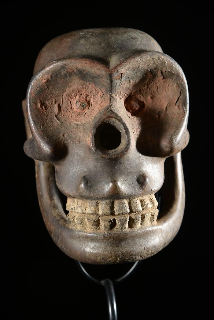 Crâne Singe Ngi - Bulu / Boulou - Cameroun