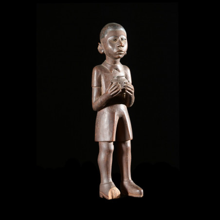 Statue Colon - Lobi - Burkina Faso