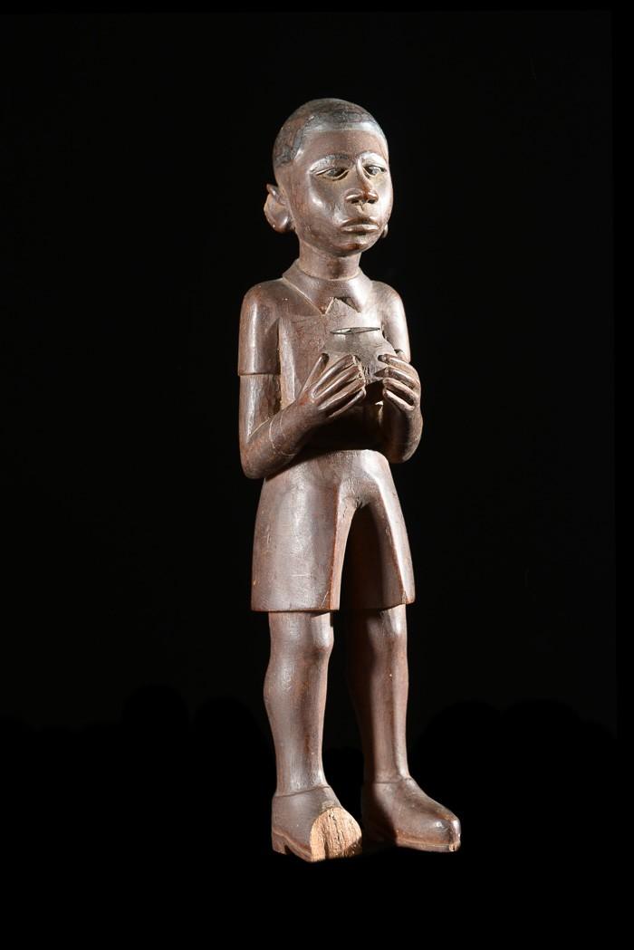 Statue Colon - Makonde - Tanzanie