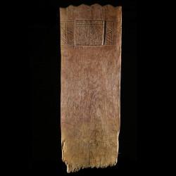 Plaque de lit sculptee - Peul - Niger - Objets usuels