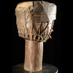 Tambour une peau - Baoule - Cote d'Ivoire