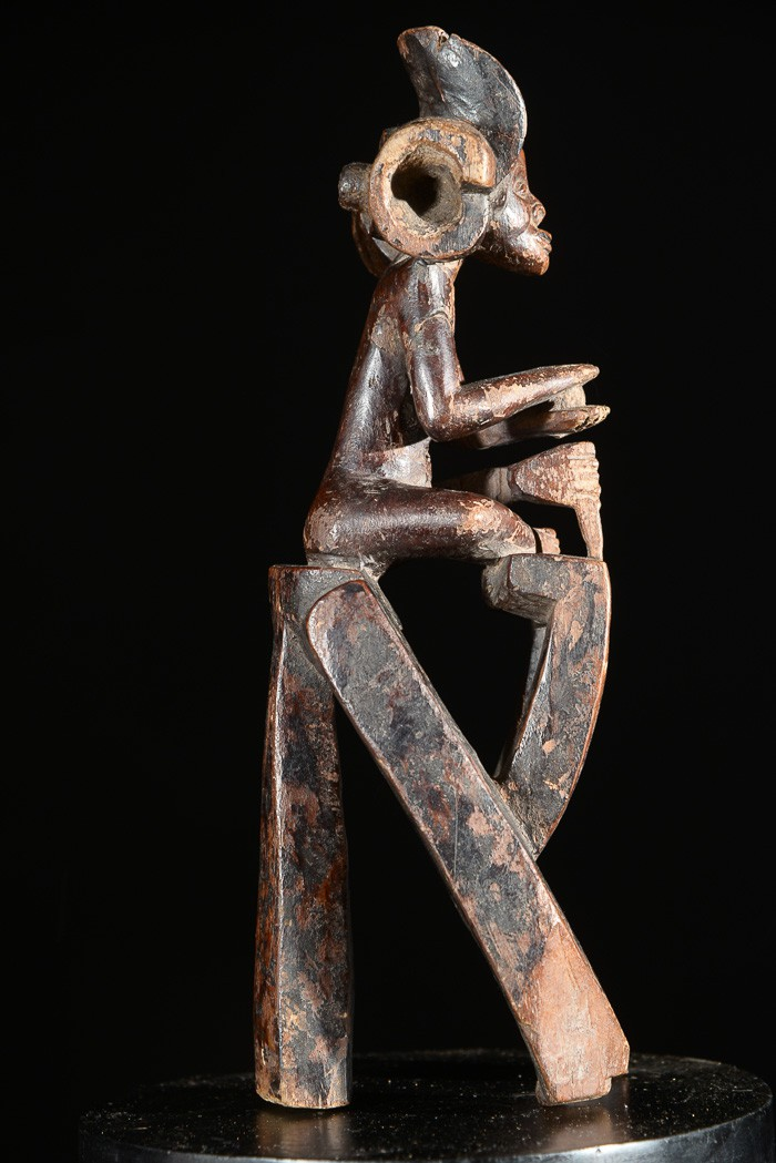 Effigie de chef - Chokwe / tshokwe - Angola - Statues africaines