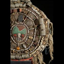 Parure royale de ceremonie - Yoruba - Nigeria - Afrique