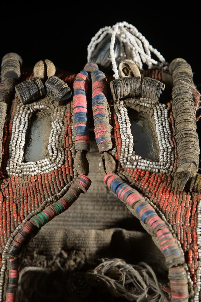 Parure de féticheur Babalawo - Yoruba - Nigeria - Afrique