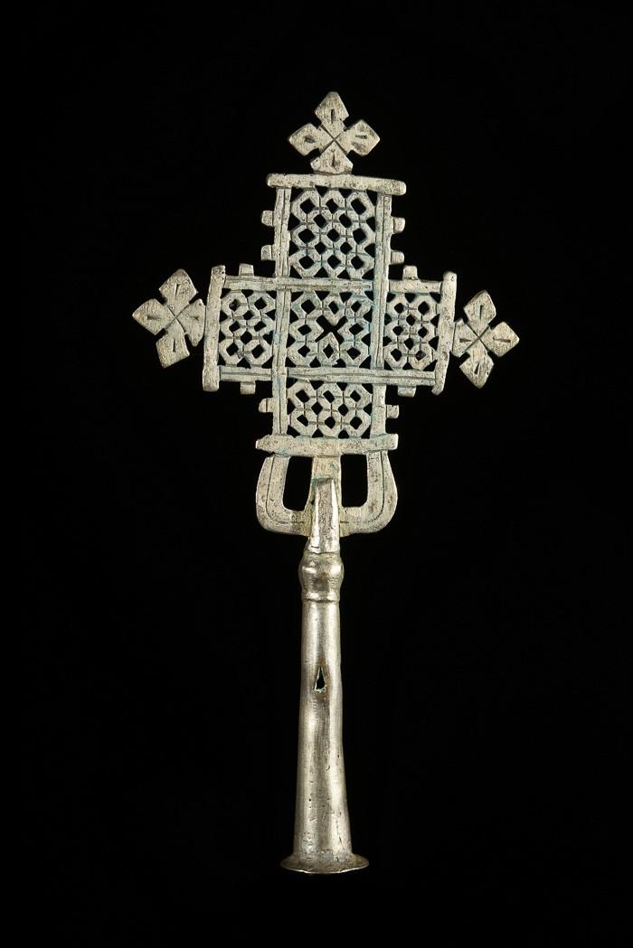Croix processionnelle Copte Maskal - Amahara - Ethiopie