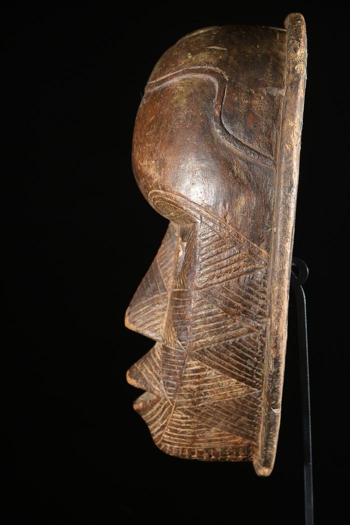 Masque anthropomorphique - Tetela - RDC Zaire - Masques africains