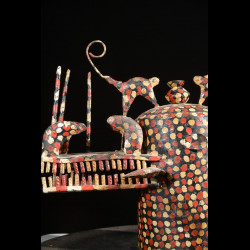 Masque Kpeliye Poro - Senoufo / Kouflo - Côte d'Ivoire