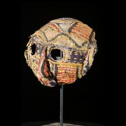 Masque ancien de maladie Clown - Ibo / Igbo - Nigeria - Maladies