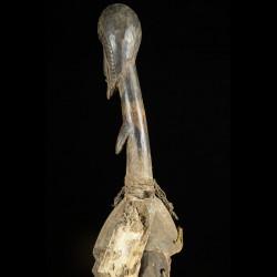 Statue danseuse Koudougou en aluminium - Mossi - Burkina Faso