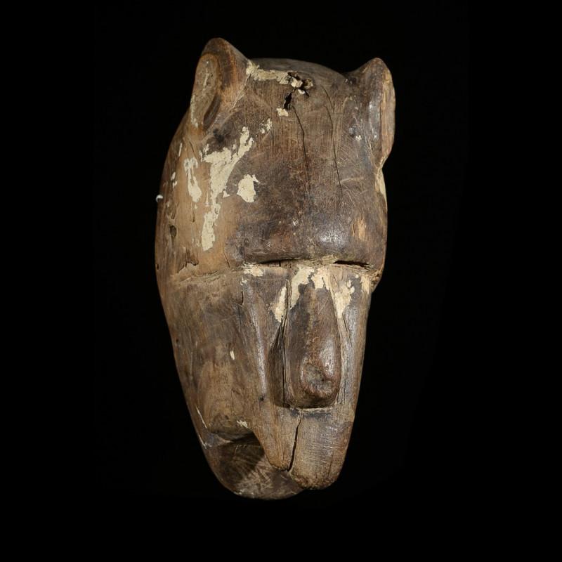 Masque Hyene polychrome - Bozo / Bambara - Mali