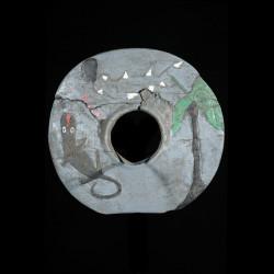 Disque de bras polychrome - Bidjogo - Guinée Bissau