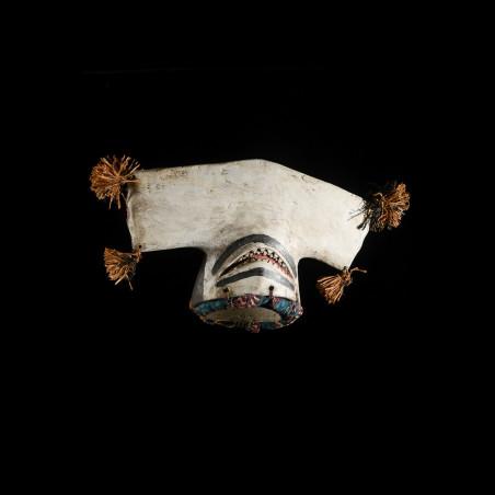 Masque cimier requin-marteau - Bidjogo - Guinée Bissau