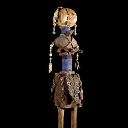 Poupee rituelle perlee - Baggara - Soudan