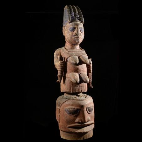 Masque Epa Maternite - Yoruba - Benin - Collection Gabriel Massa