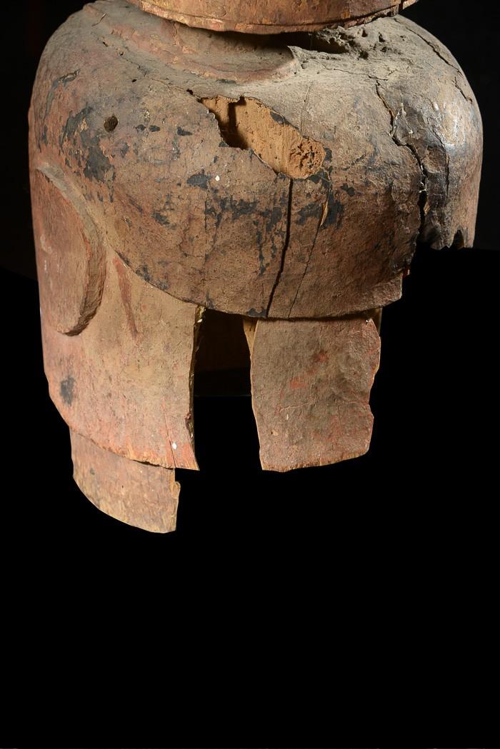 Masque Epa Maternite - Yoruba - Benin - Collection Gabriel Massa