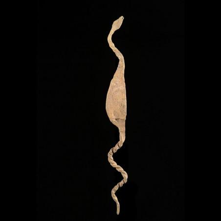 Monnaie primitive en fer noir - Mumuye - Nigeria