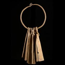 Bracelet en fer noir - Chamba - Nigeria