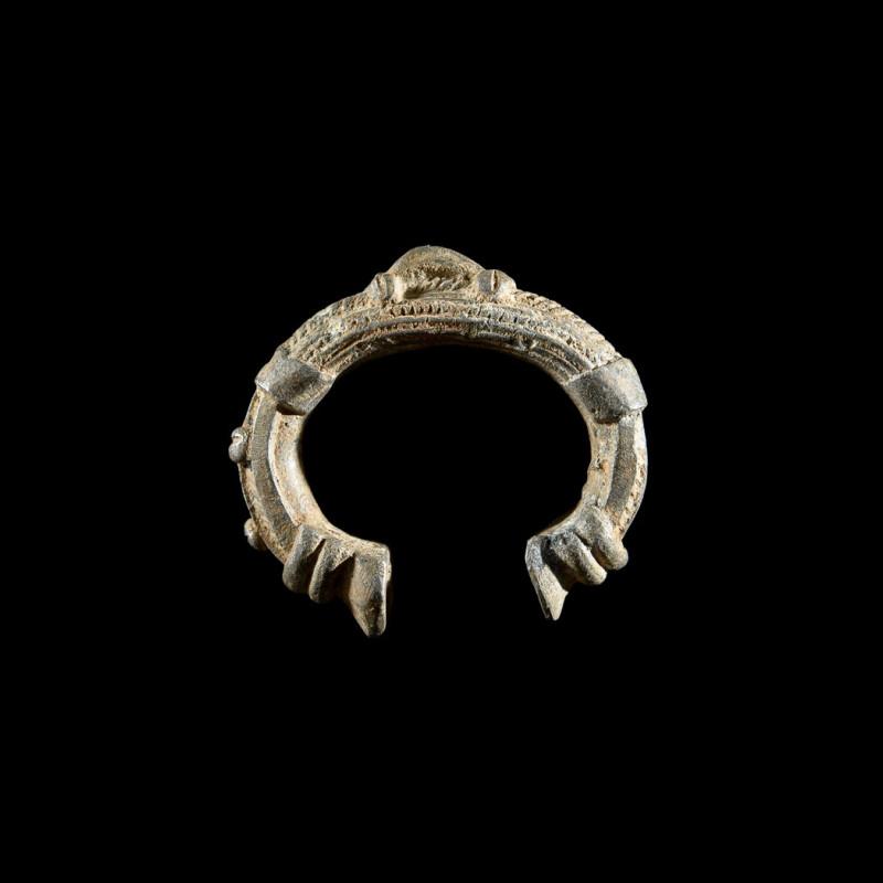 Bracelet en aluminium - Ethnie inconnue - Burkina Faso
